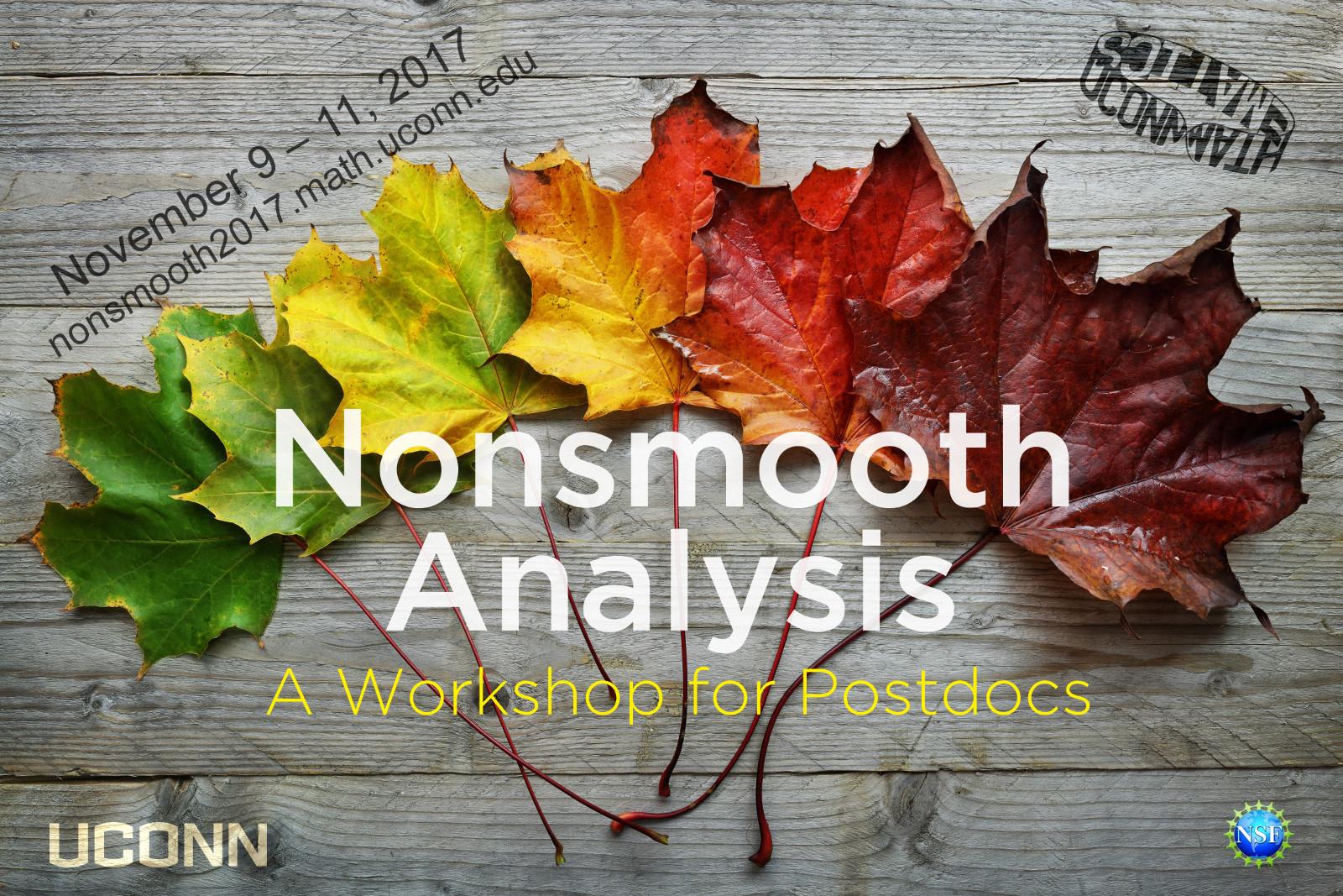 Workshop Fall Leaves Poster